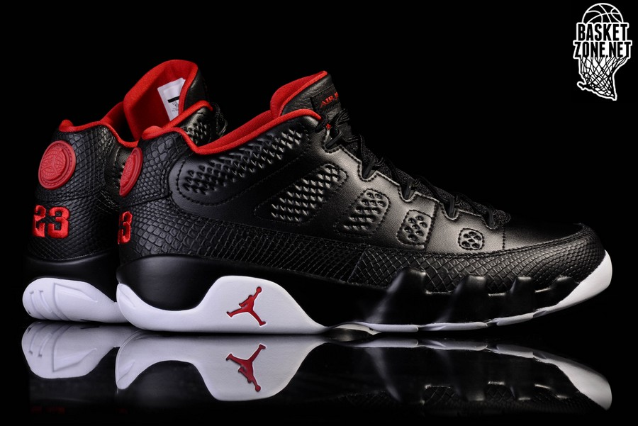 new arrival 0ba54 8abd3 NIKE AIR JORDAN 9 RETRO LOW BRED