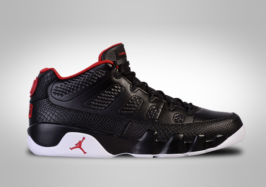 new arrival c00b4 12f05 NIKE AIR JORDAN 9 RETRO LOW BRED