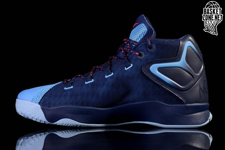 vitalidad hueco puramente  NIKE AIR JORDAN MELO M12 NORTH CAROLINA BLUE price $132.50 | Basketzone.net