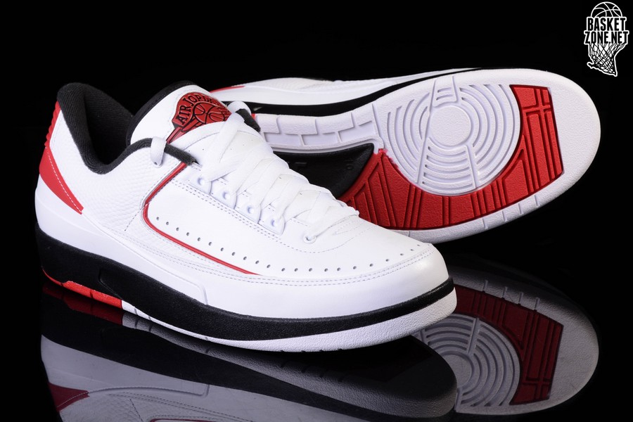 a9546c4ef99 NIKE AIR JORDAN 2 RETRO LOW CHICAGO price €112.50   Basketzone.net