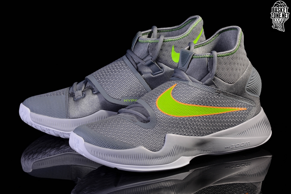 premium selection a0df8 93415 NIKE ZOOM HYPERREV 2016 GREY TOXIC DRAYMOND GREEN