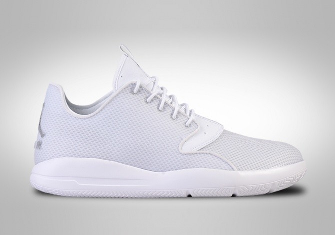 NIKE AIR JORDAN ECLIPSE WHITE METALLIC SILVER