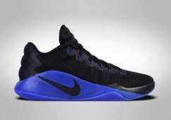 NIKE HYPERDUNK 2016 LOW BLACK BLUE