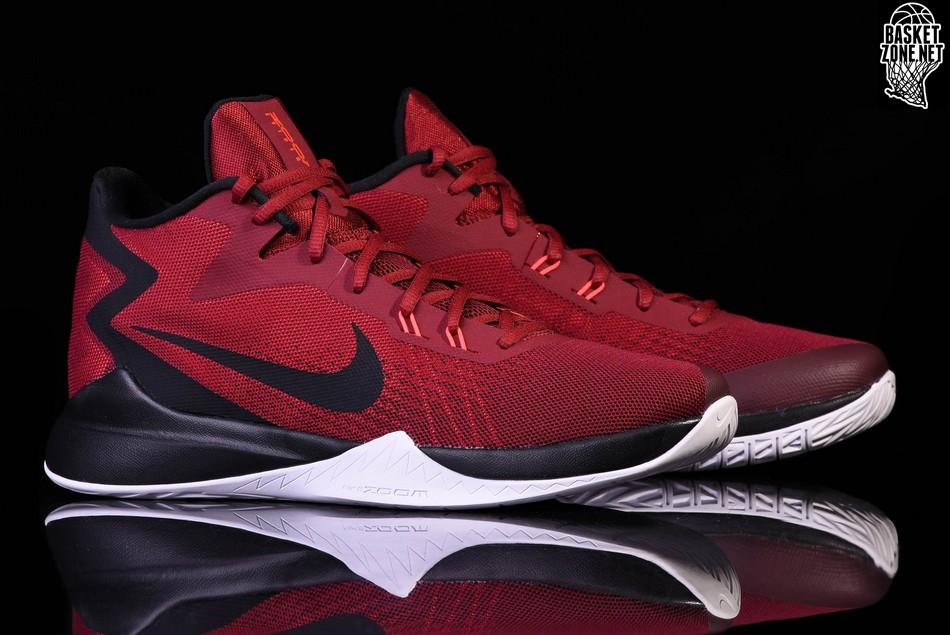 best sneakers 2b687 5121f NIKE ZOOM EVIDENCE TEAM RED