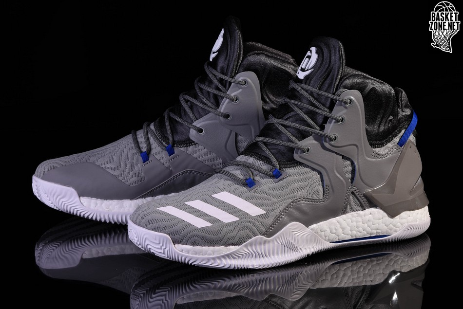 online store fe9e0 54f50 ADIDAS D ROSE 7 PRIMEKNIT SOLID GREY