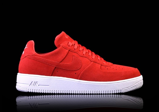 finest selection c3584 a45ae NIKE AIR FORCE 1 ULTRAFORCE RED