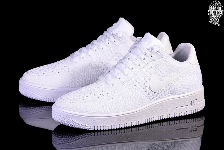 lowest price 231c5 f817d NIKE AIR FORCE 1 ULTRA FLYKNIT LOW WHITE price €122.50 ...