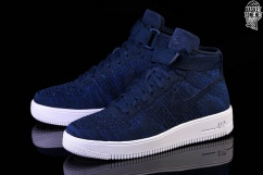 f03dff56ff308 NIKE AIR FORCE 1 ULTRA FLYKNIT MID COLLEGE NAVY per €127