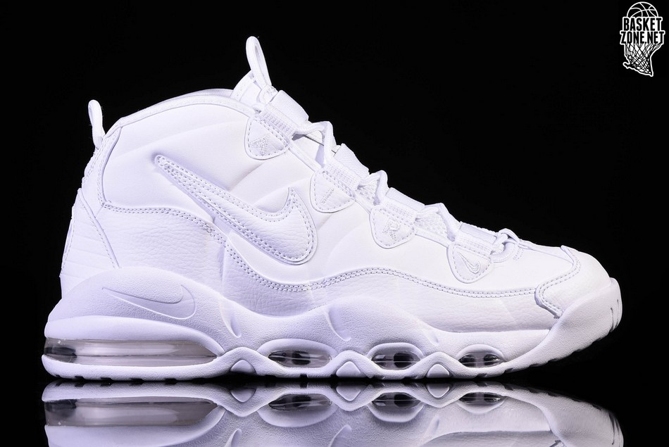 new arrival 083b5 117cd NIKE AIR MAX UPTEMPO '95 TRIPLE WHITE price $155.00 | Basketzone.net
