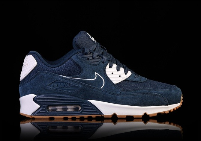 separation shoes 2e0ca 61363 NIKE AIR MAX 90 PREMIUM ARMORY NAVY pour €135,00 | Basketzone.net