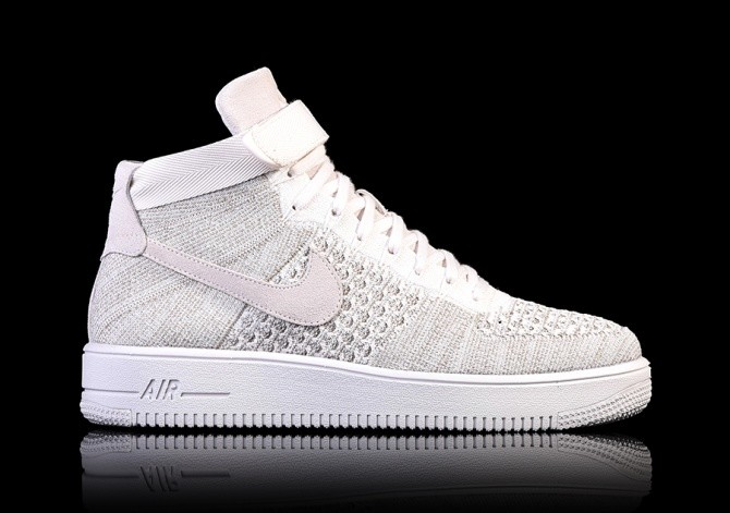 brand new ebab4 309d5 NIKE AIR FORCE 1 ULTRA FLYKNIT MID SAIL