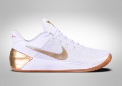 NIKE KOBE A.D. 12 BIG STAGE WHITE METALLIC GOLD