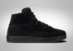 NIKE AIR JORDAN 2 RETRO DECON TRIPLE BLACK