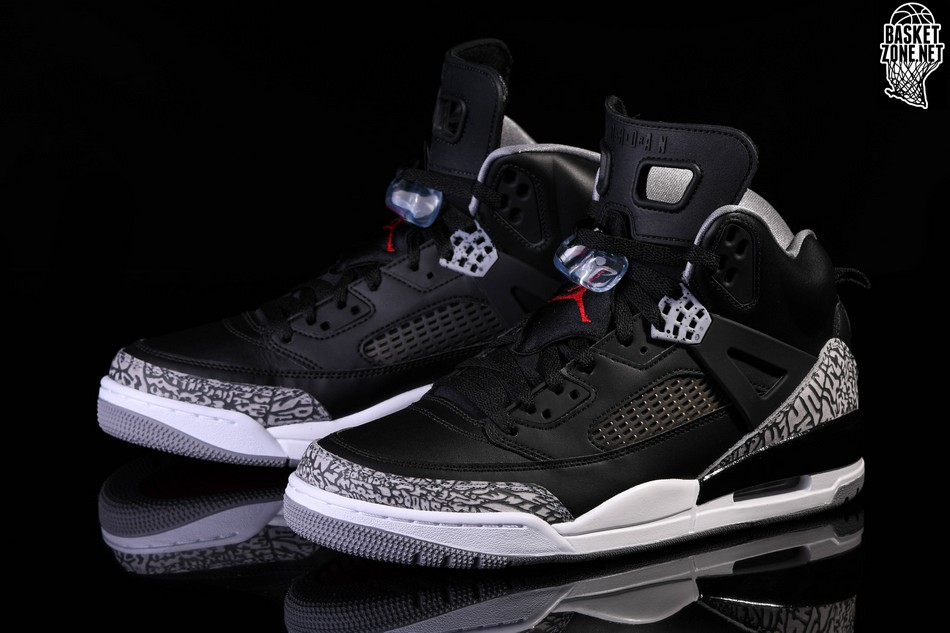 new product 39226 ad412 NIKE AIR JORDAN SPIZIKE BLACK CEMENT