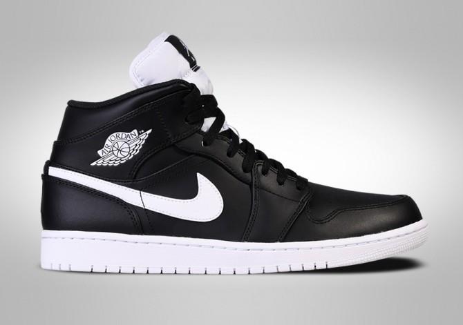 new style 5c6ea 765b1 ... coupon for nike air jordan 1 retro mid black white c4869 02366