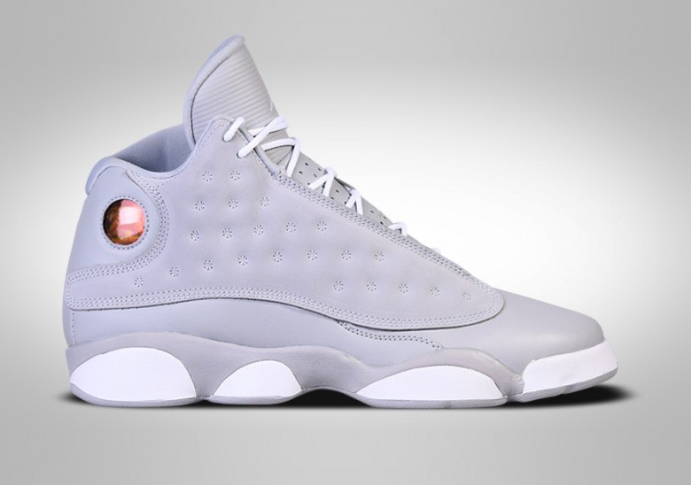 4f4bfbc4668c NIKE AIR JORDAN 13 RETRO WOLF GREY GG (SMALLER SIZE) price €132.50 ...