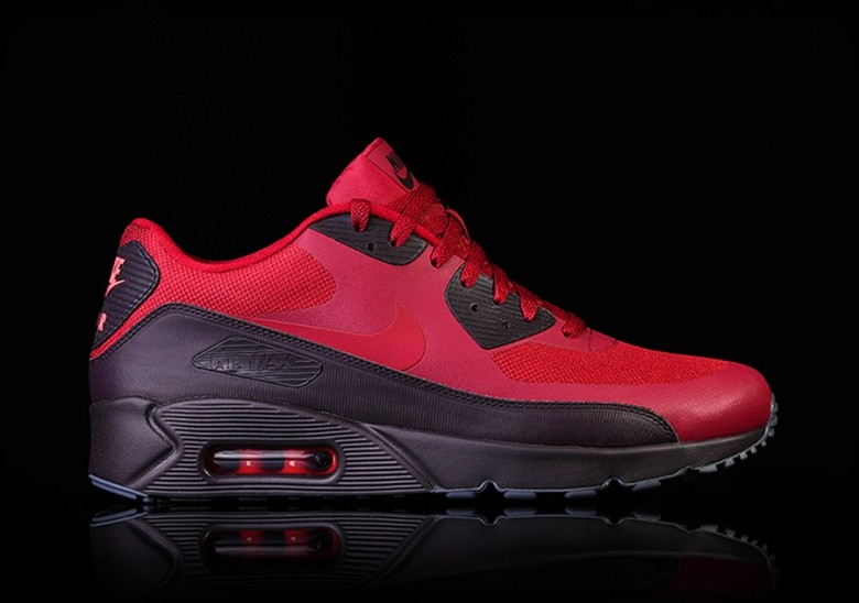 NIKE AIR MAX 90 ULTRA 2.0 ESSENTIAL NOBLE RED pour </p>
