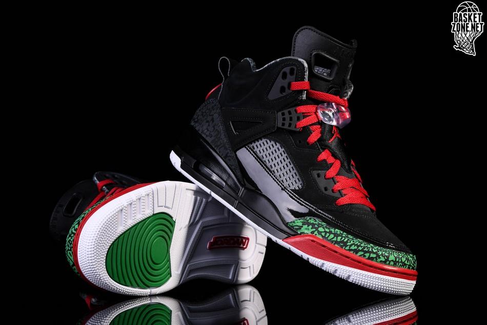 sports shoes 8fa95 3412c NIKE AIR JORDAN SPIZIKE BLACK RED POISON GREEN