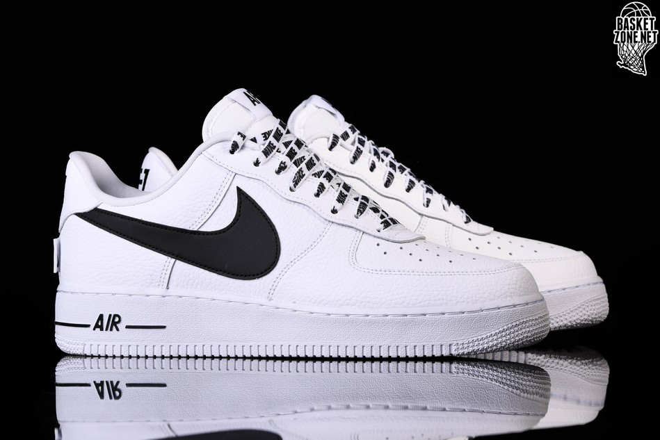 best service 744bf c550f NIKE AIR FORCE 1  07 LV8 NBA PACK WHITE BLACK. 823511-103