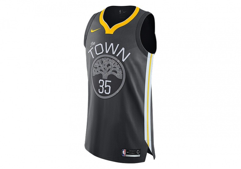 new arrivals 25ce8 a29d5 NIKE NBA GOLDEN STATE WARRIORS KEVIN DURANT AUTHENTIC JERSEY ANTHRACITE  pour €115,00   Basketzone.net