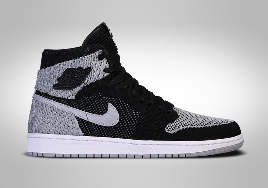 6202b7680db6 NIKE AIR JORDAN 1 RETRO HIGH FLYKNIT BLACK SHADOW BG price €115.00 ...