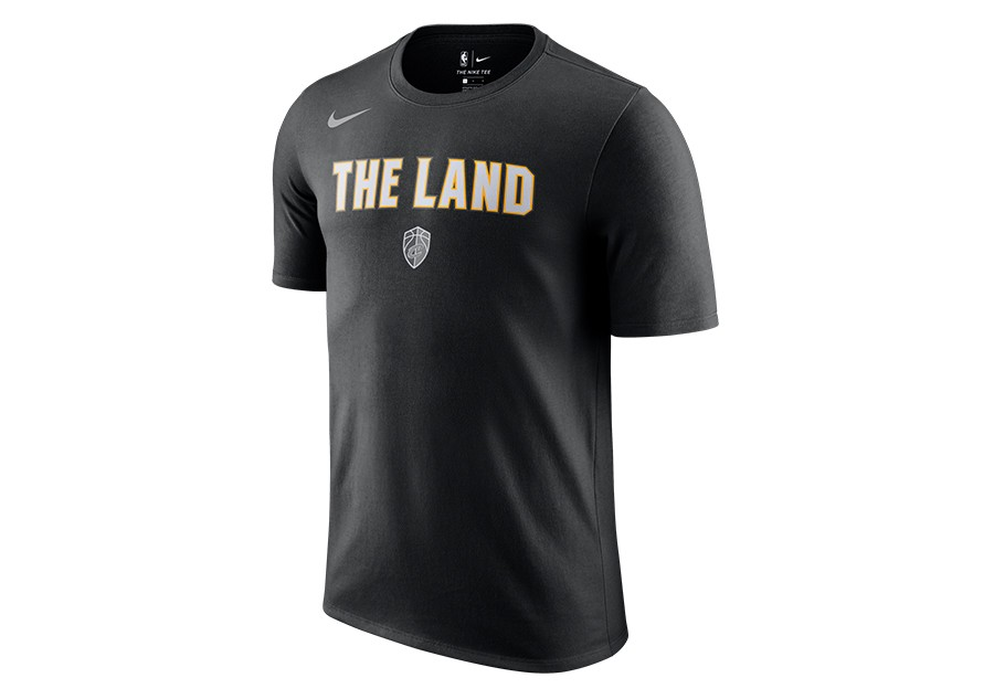 NIKE NBA CLEVELAND CAVALIERS CITY EDITION DRY TEE BLACK per