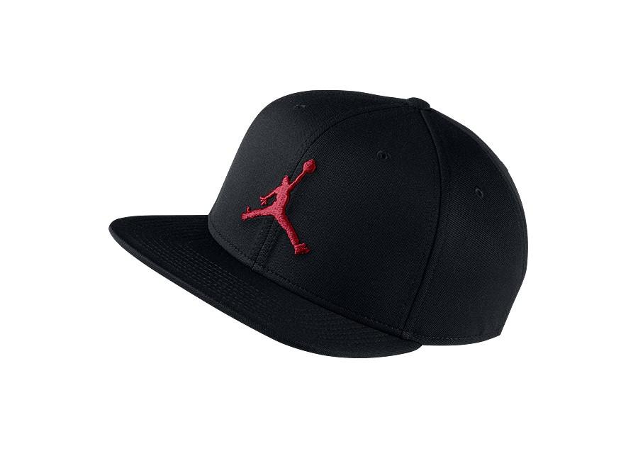 7a8d1e7f55a29 NIKE AIR JORDAN JUMPMAN SNAPBACK HAT BLACK GYM RED price 102.50ر.س ...