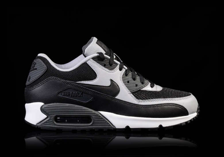 Nike mens air max 90 essential shoes anthracite/wolf grey