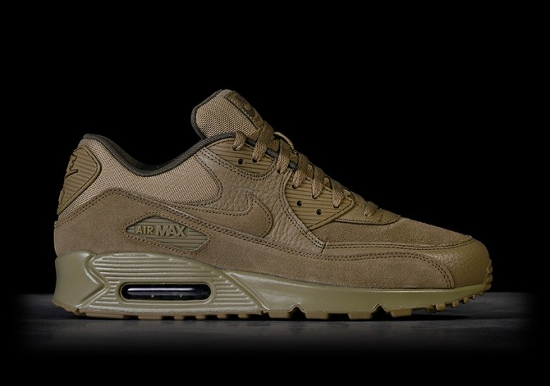 newest c4016 f90d7 NIKE AIR MAX 90 PREMIUM NEUTRAL OLIVE pour €127,50 | Basketzone.net