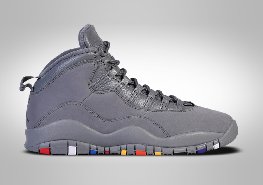 official photos 92a52 f143f NIKE AIR JORDAN 10 RETRO COOL GREY price €162.50   Basketzone.net