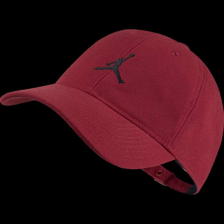 aa7c58d777392 AIR JORDAN JUMPMAN FLOPPY H86 HAT. GYM RED. £20.00