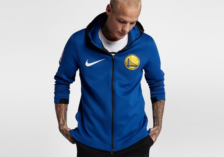 NIKE NBA GOLDEN STATE WARRIORS THERMA FLEX RUSH BLUE por 999 6725e7da8ac
