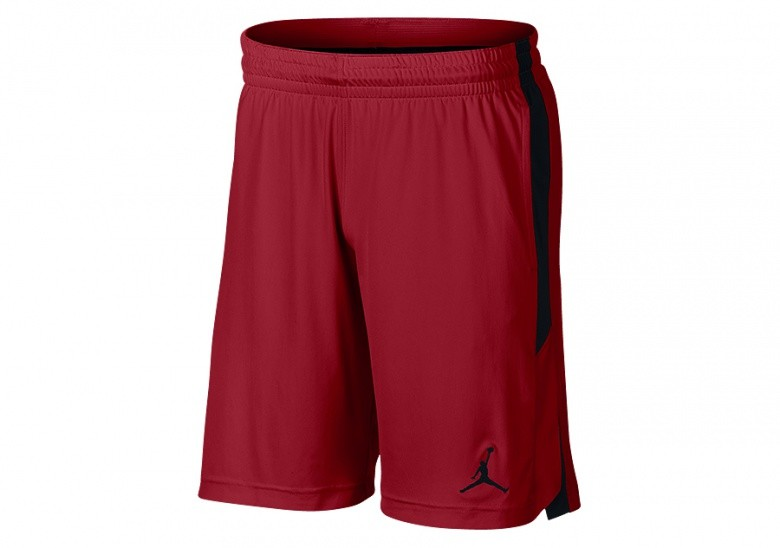 NIKE AIR JORDAN DRI-FIT 23 ALPHA TRAINING KNIT SHORTS GYM RED