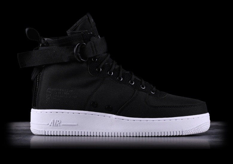 competitive price c7cd8 12abc NIKE SF AIR FORCE 1 MID BLACK
