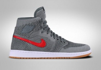 NIKE AIR JORDAN 1 RETRO HI FLYKNIT BG CLAY GREEN