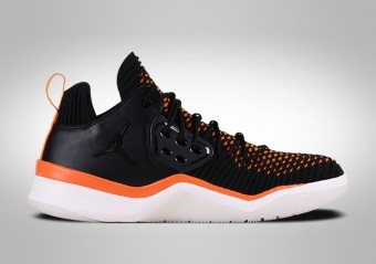 NIKE AIR JORDAN DNA LX BLACK ORANGE PEEL