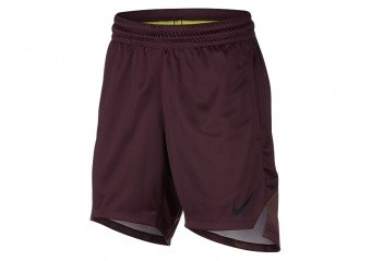 NIKE WOMEN'S ELITE SHORTS BURGUNDY CRUSH