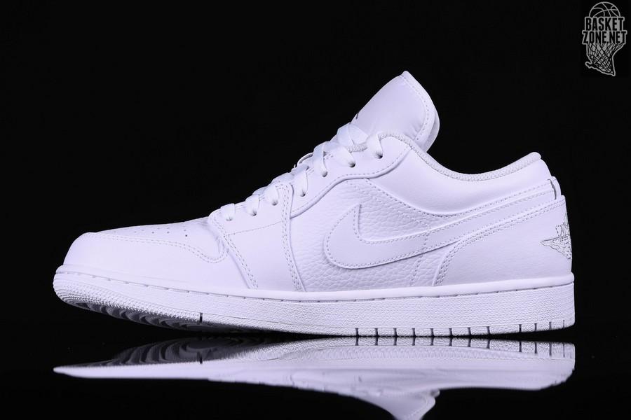 Nike Triple White Jordan 1 Retro Pour Air Low qLVGMzSUp