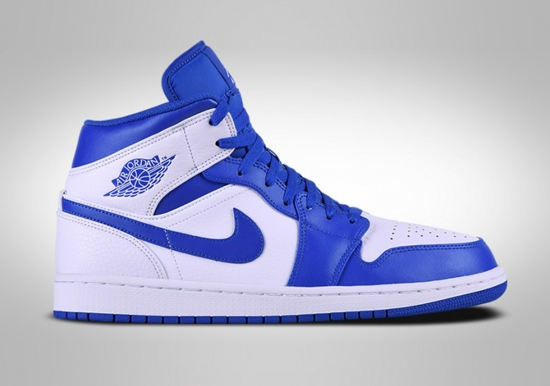 NIKE AIR JORDAN 1 RETRO MID HYPER ROYAL