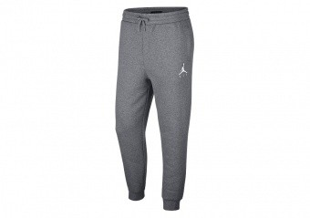 NIKE AIR JORDAN SPORTSWEAR JUMPMAN FLEECE PANTS CARBON HEATHER