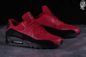 separation shoes fb0d0 aff3a NIKE AIR MAX 90 ESSENTIAL BLACK RED