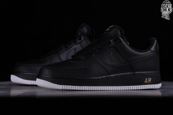 finest selection 58975 c114b NIKE AIR FORCE 1 07 BLACK