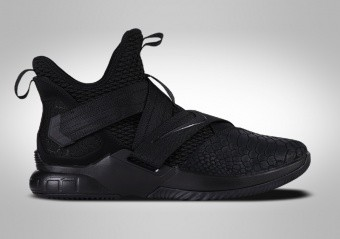 NIKE LEBRON SOLDIER 12 SFG TRIPLE BLACK