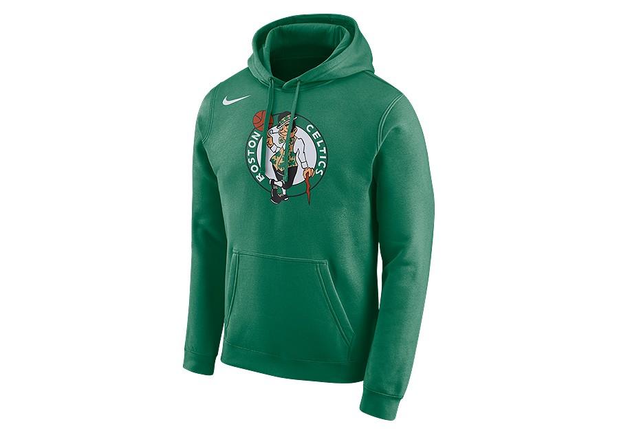 przytulnie świeże profesjonalna sprzedaż klasyczny styl NIKE NBA BOSTON CELTICS LOGO HOODIE CLOVER price €62.50 ...