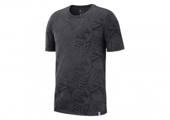 NIKE NBA GOLDEN STATE WARRIORS TEE ANTHRACITE