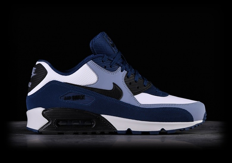 watch 9945c eb230 NIKE AIR MAX 90 LEATHER BLUE VOID