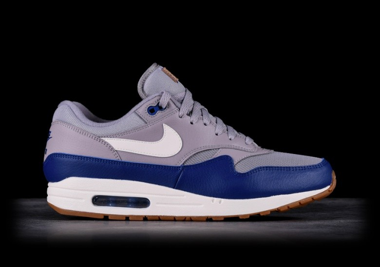 NIKE AIR MAX 1 GREY ROYAL BLUE