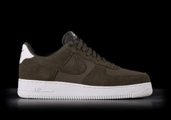 NIKE AIR FORCE 1 '07 SUEDE DARK GREEN