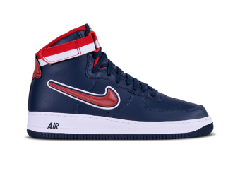 Mens Nike Air Force 1 One Low 07 NBA Pack Burgundy 823511 605
