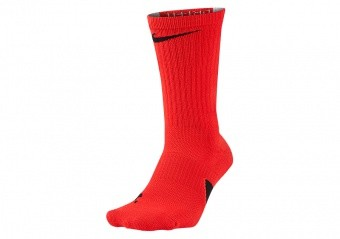 NIKE ELITE CREW SOCKS UNIVERSITY RED